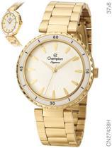 Relógio Champion Elegance CN27438H Quartz Dourado -