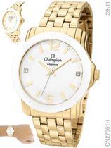 Relógio Champion Elegance CN27661H Quartz Dourado -