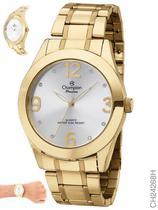 Relógio Champion Elegance Feminino CH24268H Quartz Dourado -