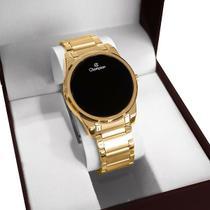 Relógio Champion Feminino Digital Dourado CH40053V -