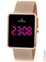 Relógio Champion Feminino Digital Quadrado Rosé CH40080H -
