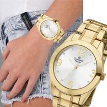 Relógio Champion Feminino Dourado Ch24268h -