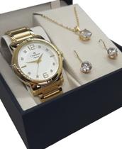 Relógio Champion Feminino Dourado CN25252W -