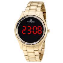 Relógio Champion Feminino Dourado - Digital - CH48019V -