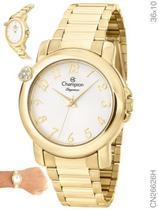 Relógio Champion Feminino Elegance CN26626H Quartz Dourado -