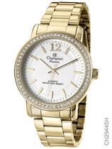 Relógio Champion Feminino Passion CN29445H Quartz Dourado -
