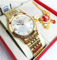 Relógio Champion Feminino + Pulseira CN26957S -