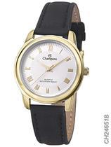 Relógio Champion Feminino Social CH24651B Quartz Dourado -