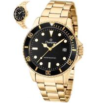 Relógio Champion Masculino Analógico Dourado CA31266U -