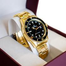 Relógio Champion Masculino Dourado CA31266U -