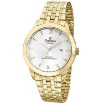 Relógio Champion Masculino Ref: Ca21599h Social Dourado -