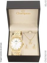 Relógio Champion Passion CN27901W Quartz Dourado -