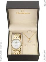Relógio Champion Passion CN29801W  Quartz Dourado -
