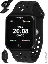 Relógio Champion Smartwatch Bluetooth 4.0 Preto ch50006p -