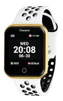 Relógio Champion Smartwatch Branco e Dourado CH50006B -