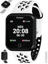 Relógio Champion Smartwatch Branco Preto Bluetooth 4.0 CH50006K -