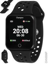 Relógio Champion Smartwatch  Preto Bluetooth 4.0 CH50006P UNISSEX -