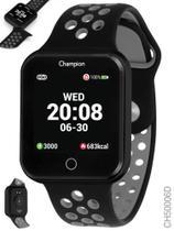 Relógio Champion Smartwatch Preto e Cinza Bluetooth 4.0 CH50006d -