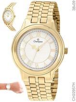 Relógio Champion Social CH22957H Quartz Dourado -