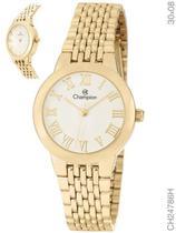 Relógio Champion Social CH24786H Quartz Dourado -