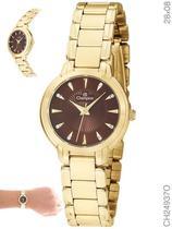 Relógio Champion Social CH24937O Quartz Dourado -