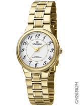 Relógio Champion Social CH26882H Quartz Dourado -