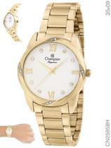 Relógio Champion Social CN25958H Quartz Dourado -