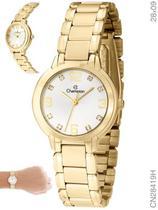 Relógio Champion Social CN28419H Quartz Dourado -