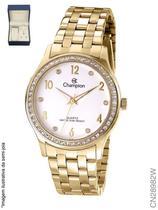 Relógio Champion Social CN28982W Quartz Dourado -