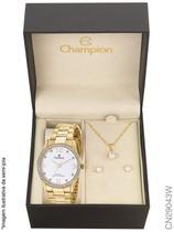 Relógio Champion Social CN29043W Quartz Dourado -