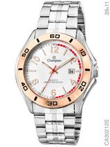 Relógio Champion Sport CA30212S Quartz Prata aro dourado -