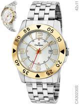Relógio Champion Sport CA30230S Quartz Prata aro dourado -