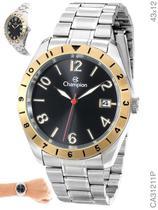 Relógio Champion Sport CA31211P Quartz Prata aro dourado -