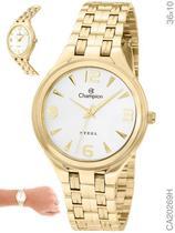 Relógio Champion Steel CA20269H Quartz Dourado -