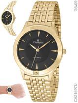 Relógio Champion Steel CA21697U Quartz Dourado -
