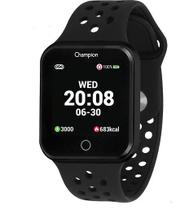 RELÓGIO CHAMPION UNISSEX SMART WATCH PRETO CH50006P -Cod Interno 030029331 -