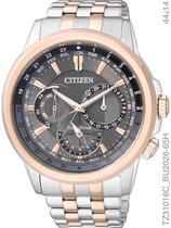 Relógio Citizen Eco-drive Cronógrafo TZ31016C/BU2026-65H Pulseira de Aço Misto -
