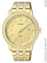 Relógio Citizen Quartz TZ20500G/BI1083-57P Pulseira de Aço Dourado -