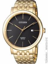 Relógio Citizen TZ20699U Quartz BI5070-57H Dourado -