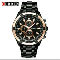 Relógio Curren 8023 Luxo Masculino Aço Inoxidável Estojo -