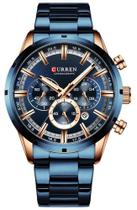 Relógio Curren 8355 Azul -
