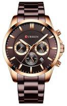 Relógio Curren 8358 Chumbo -