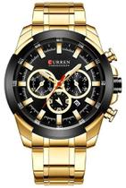Relógio Curren 8361 Dourado -