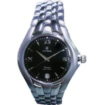 Relógio Cyma - Preto - 122.185 -