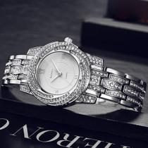 Relógio De Luxo Fino Feminino Strass Baosaili Bsl1030 -