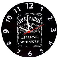 Relógio de madeira mdf 28cm jack daniels whiskey - naira - ddp/pre/ddp - Center Compras