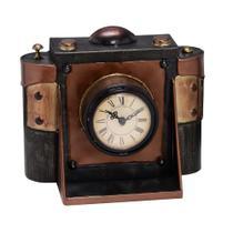 Relógio de Mesa Câmera Fotográfica Vintage 22x17cm - Concepts life -