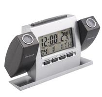 Relógio De Mesa Digital Despertador projetor duplo - Box7