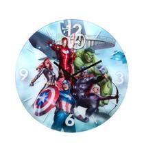 Relógio de Parede 30cm Marvel Avengers -