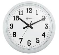 Relógio De Parede 40 Cm Branco Fosco Grande Herweg -